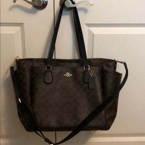 Coach Babybag or work/travel tote